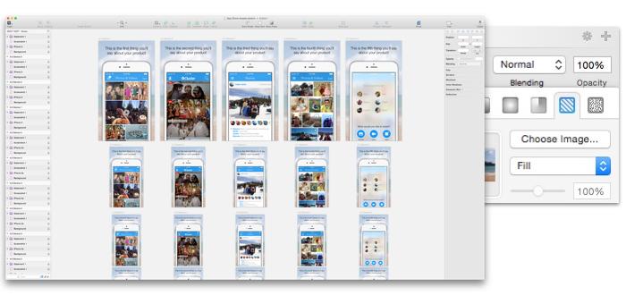 Организация разработки в Sketch для iOS