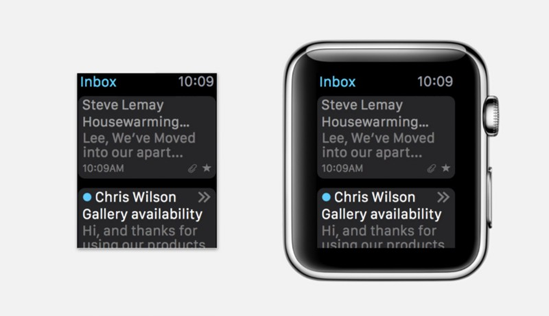 11 рекомендаций по дизайну приложений для Apple Watch в Sketch