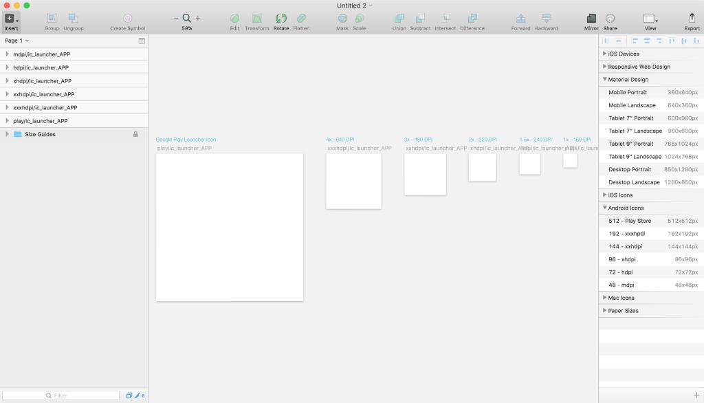 Визуализация новых возможностей в Sketch 3.4