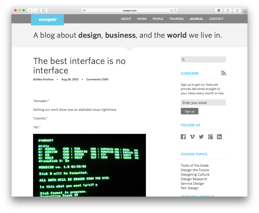 «Оценивать дизайнеров по количеству кликов — отвратительно и вульгарно»