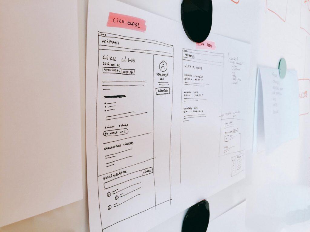 Анализ и разработка макета сайта с нуля