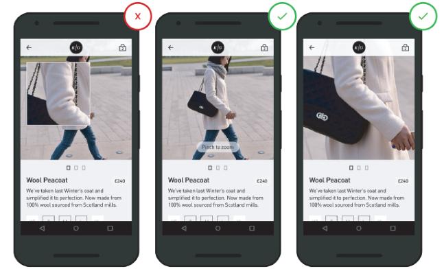 Мобильный UX-дизайн: страничка продукта