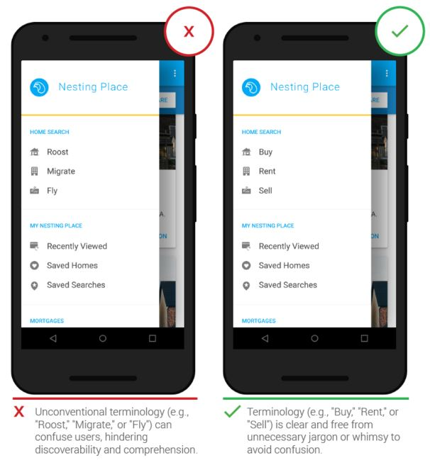 Принципы дизайна мобильных приложений от Google